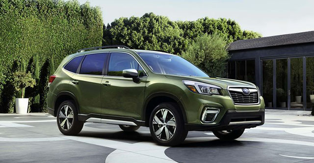 2021 Subaru Forester Changes