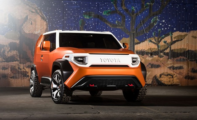 2020 Toyota FT-4X front view