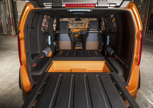 2020 Toyota FT-4X rear
