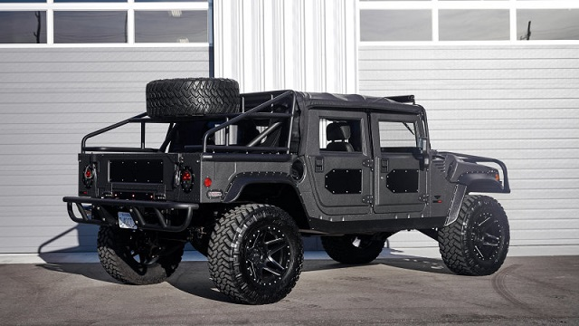 2019 Hummer H1 rear