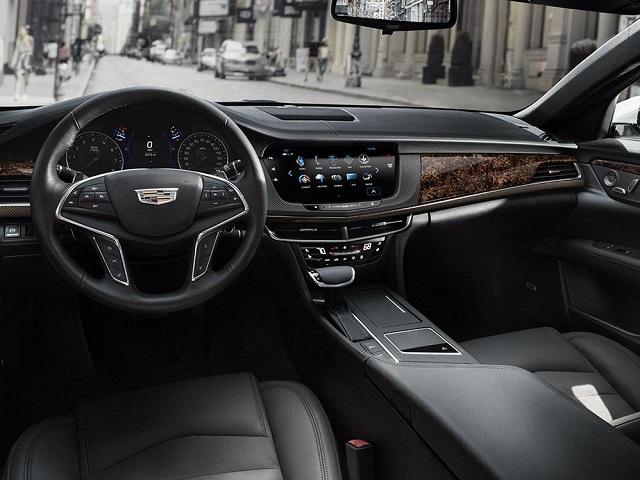 2019 Cadillac XT7 interior