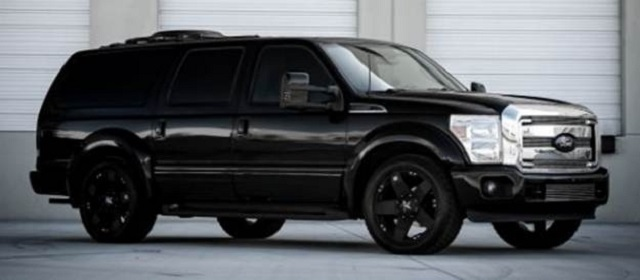 2020 Ford Excursion side