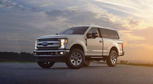 2020 Ford Excursion three-row