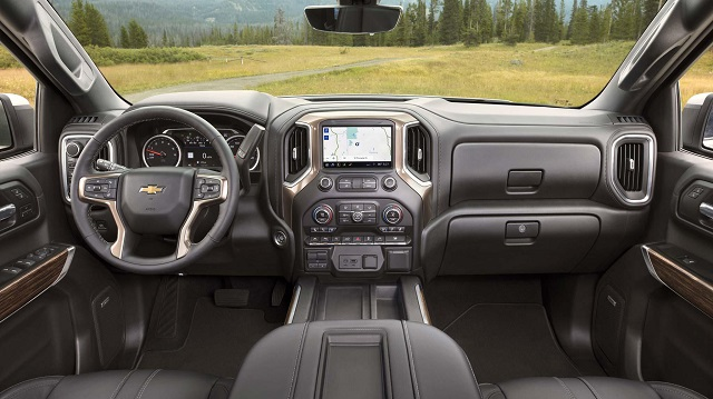 2019 Silverado High Desert interior