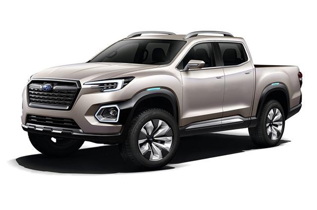 2019 Subaru Pickup Truck