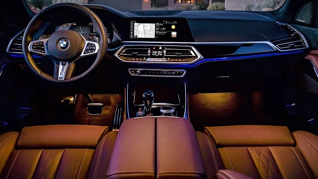 BMW Pickup Truck interior