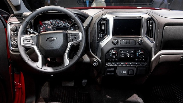 2020 Chevy Suburban interior