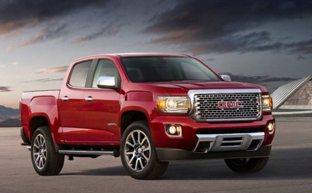 2020 GMC Canyon Specs and Towing Capacity