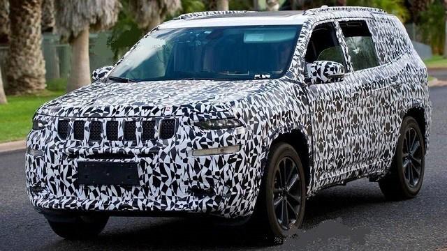 2020 Jeep Wagoneer Spy Shots