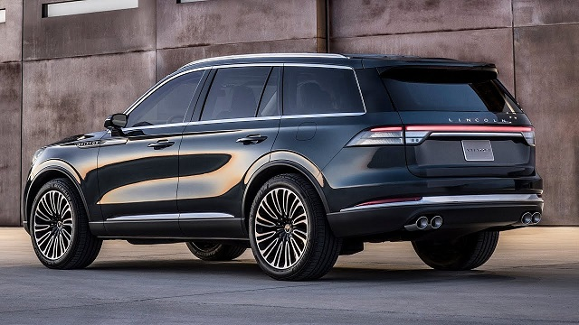2020 Lincoln Aviator towing capacity
