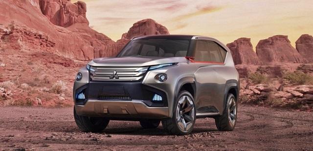 2020 Mitsubishi Montero concept