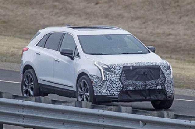 2021 Cadillac XT5 Spy shot