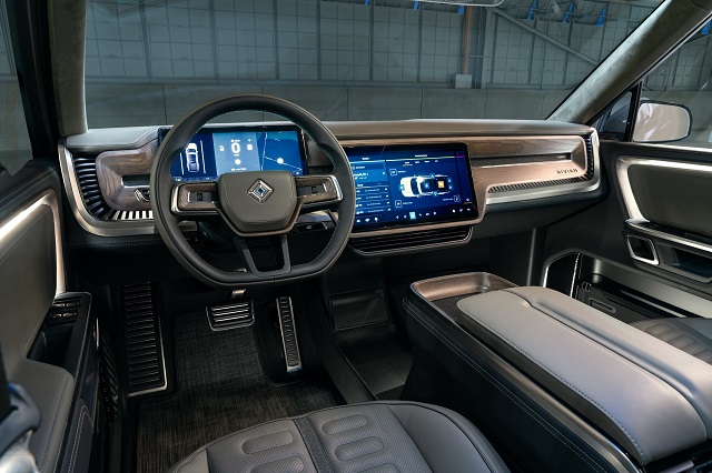 2021 Rivian R1T Interior