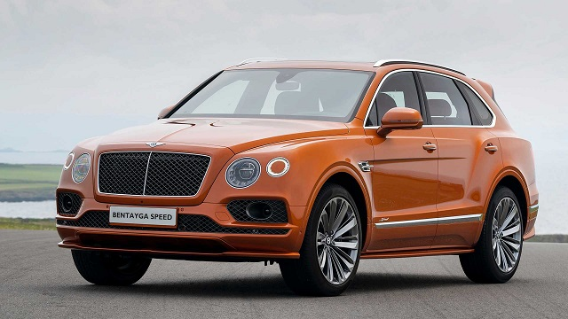 2021 Bentley Bentayga Speed