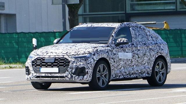 2021 Audi Q5 spied