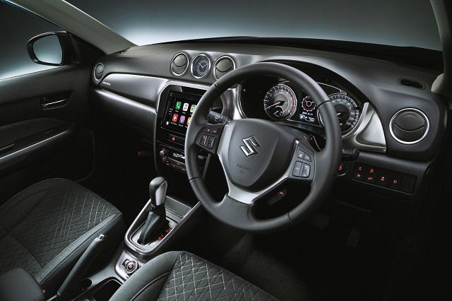2021 Suzuki Grand Vitara interior