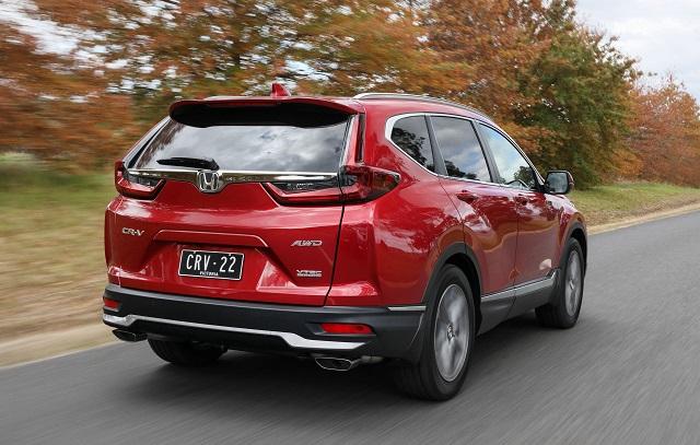 2022 Honda CR-V redesign
