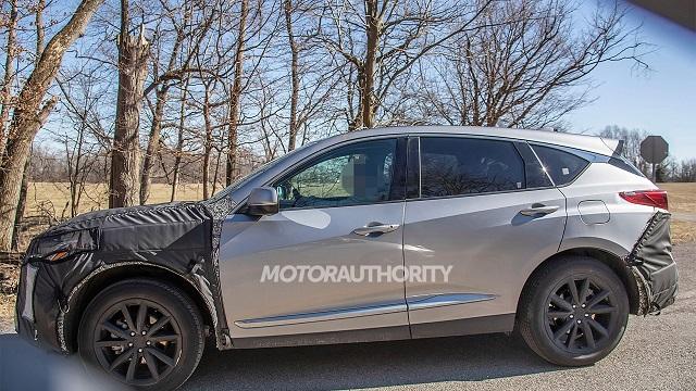 2022 Acura RDX Spy Photo