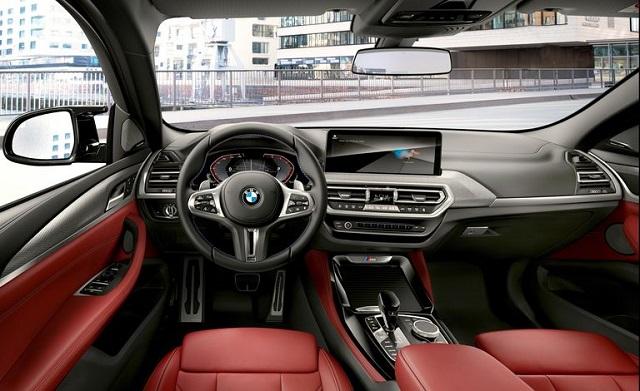 2022 BMW X4 Interior