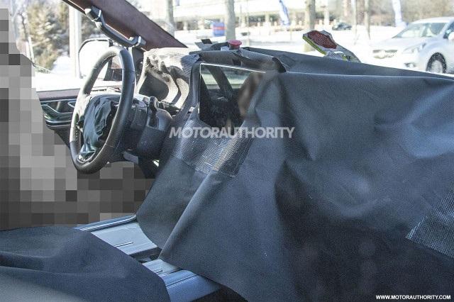 2022 Lincoln Navigator Interior Spy shot