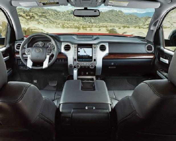 2020 Toyota Tundra Diesel Release Date interior