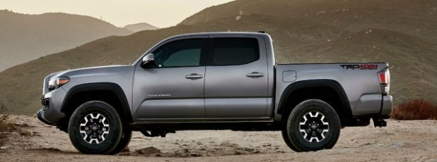 2020 Toyota Tacoma Diesel TRD Pro side view