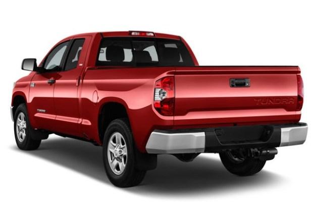 2021 Toyota Tundra Diesel rear