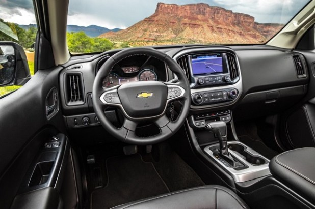 Chevy Colorado ZR2 Interior