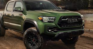 2021 Toyota Tacoma TRD Pro Army Green