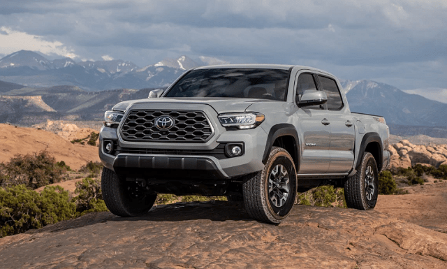 2021 Toyota Tacoma colors Cement Grey