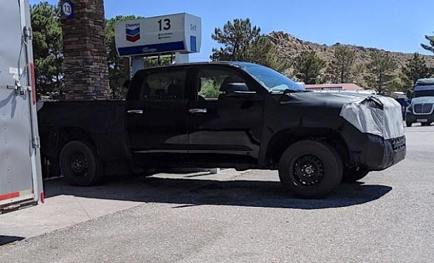2021 Toyota Tundra Spy Shots
