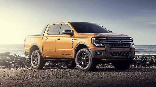 2022 Ford Ranger new