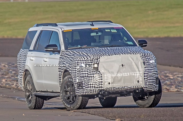 2022 Ford Expedition Spy Shot