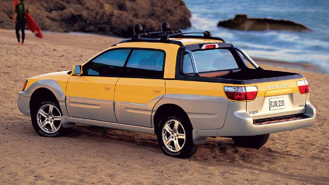 2022 Subaru Baja Pickup Truck return