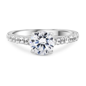 0.011 ct t.w. Engagement Ring