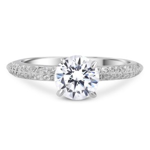 0.007 ct t.w. Engagement Ring