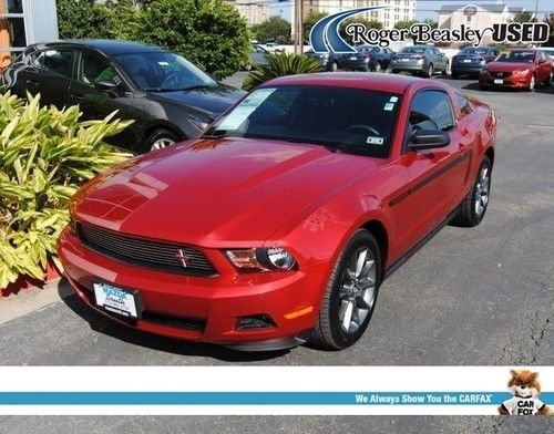 Buy Used 2012 Ford Mustang Leather USB AUX Input Rear