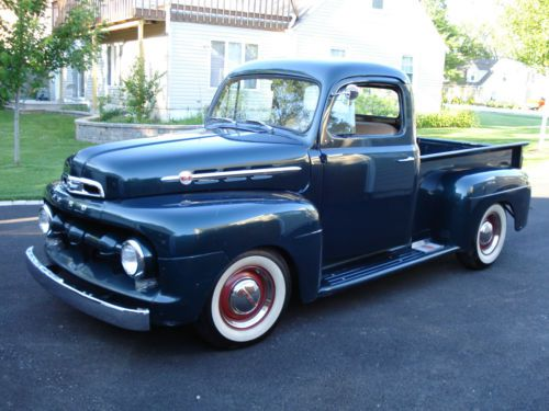 Buy New 1952 FORD F100 PICK UP TRUCK RESTORATION PROJECT
