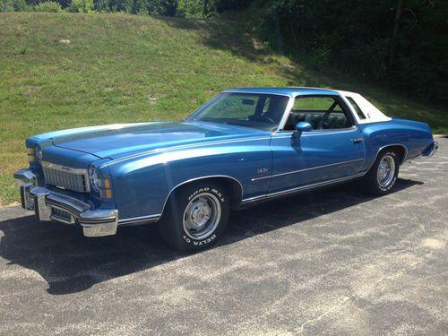 1974 monte carlo 59 221 actual miles very nice car rare color