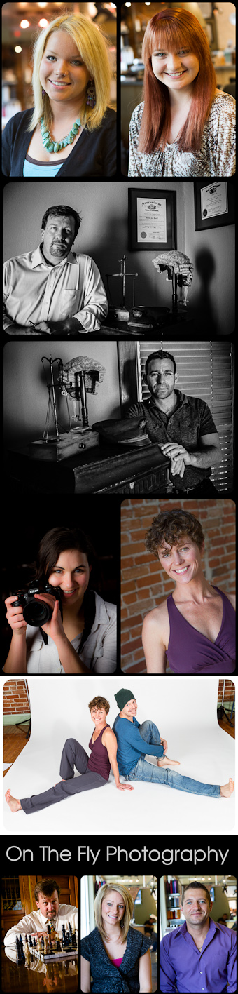 Professional Business Head Shots from On The Fly Photography