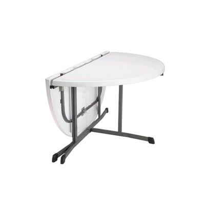 60 inch round table folded