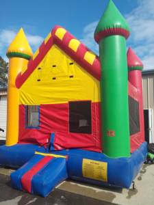 16candy land castle bounce house