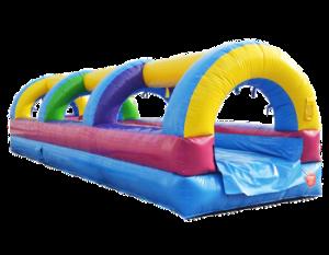 4Rainbow Slip and Slide Water slide Inside