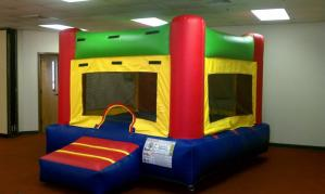 5Fun Indoor Out Red Bounce House moonwalk