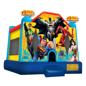 9Justice League Bounce House