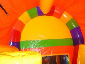 25Over the Rainbow bounce house combo
