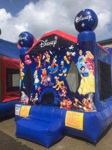 5World of Disney bounce house moonwalk