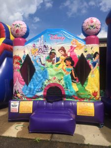 11Disney Princess bounce house moonwalk