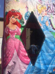 10Disney Princess bounce house moonwalk
