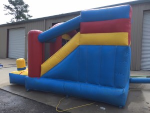 4Blast Zone Preschool Bounce House combo